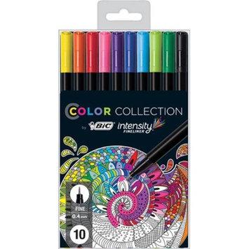 BIC BCFPA101 Intensity Fineliner Marker Pen - Asstorted Colors