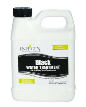 Energen Black Water Septic Tank Treatment - Deodorizing and Waste Digesting - 32 Ounce