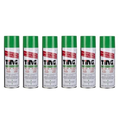 Ting Athlete's Foot and Jock Itch Anti Fungal Spray Powder - 4.5 oz (Pack of 6)