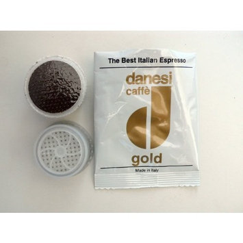 Danesi Caffe Gold Espresso Point Cartridges 10 Count for Lavazza Point Espresso Machines