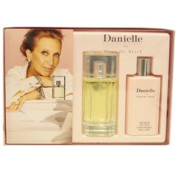 Danielle By Danielle Steel For Women. Gift Set ( Eau De Parfum Spray 3.3 Oz + Moisturizing Body Lotion 6.8 Oz )