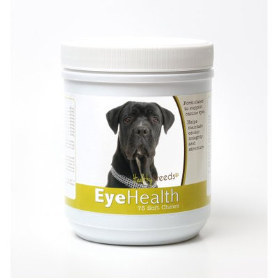Healthy Breeds 840235145639 Cane Corso Eye Health Soft Chews - 75 Count