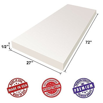 Upholstery Foam Cushion Sheet- 1/2
