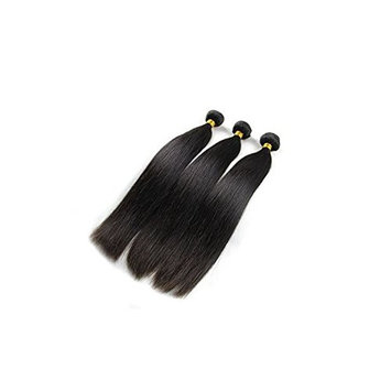 Virgin Brazilian Straight Human Hair Hair Extentions Natural Black Color 150g