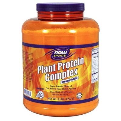 Plant Protein Complex Now Foods 6 lbs Powder