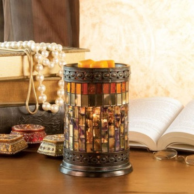 ScentSationals ScentSational Mosaic Wax Warmer, Gatsby
