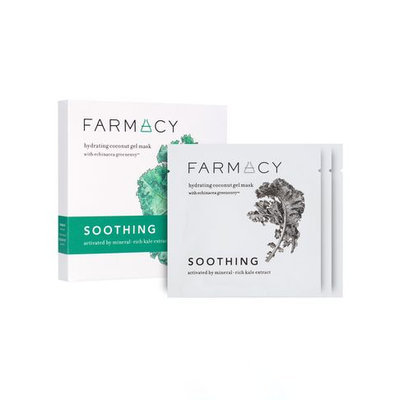 Farmacy Hydrating Coconut Gel Mask - Soothing (Kale)