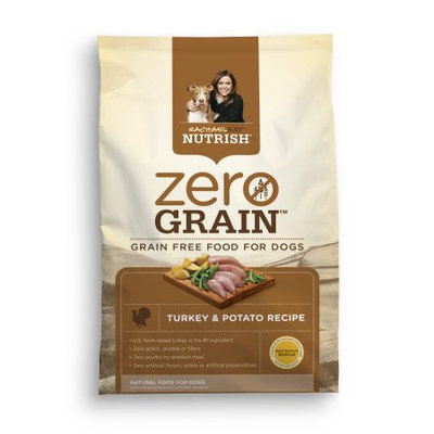 Ainsworth Pet Nutrition Inc Rachael Ray Nutrish Zero Grain Natural Dry Dog Food, Turkey; Potato Recipe 3.15 lbs