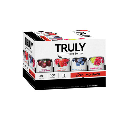 Truly Spiked & Sparkling Berry Mix, 12 pack, 12 fl oz cans