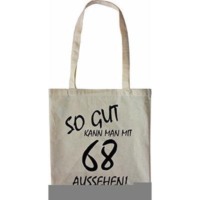Mister Merchandise Tote Bag So gut kann man mit 68 aussehen! Jahren Jahre Shopper Shopping, Color Schwarz [Black]