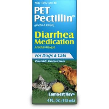 Lambert Kay Pet Pectillin Pectin & Kaolin Diarrhea Medication for Dogs & Cats, 4 fl oz