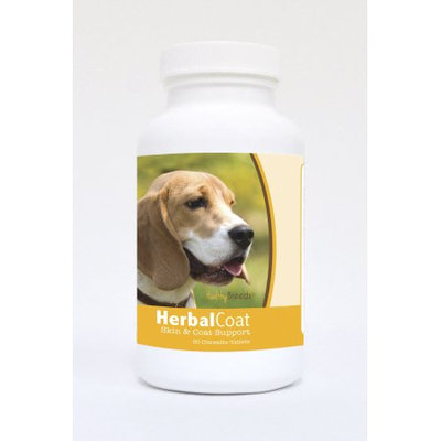 Healthy Breeds Pet Supplements 60 Beagle Natural Skin/Coat Support Chewable Tablets for Dogs