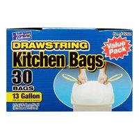 Nicole Home Collection 02021 13 Gallon Tall Kitchen DrawStorageing Trash Bags - 360 Per Case