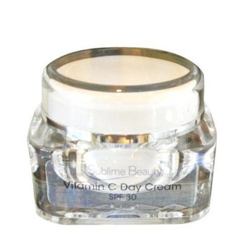 SPF 30 VITAMIN C DAY CREAM from Sublime Beauty, 1.7 oz. Protect Skin from Sun Damage + Repair with Antioxidants. Includes Aloe, Vitamins A and E. 100% Customer Satisfaction Guarantee.