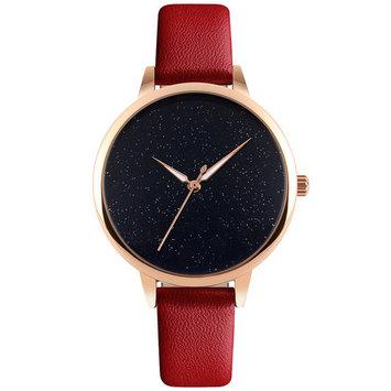 AGPtek Fashion Women Quartz Casual Watch with Leather Strap Quartz Wrist Watches
