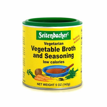 Seitenbacher Vegetable Broth and Seasoning - 5 oz. can (2-Pack)