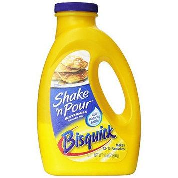 Betty Crocker Bisquick Baking Mix, Shake 'n Pour Pancake Mix, Buttermilk, 10.6 Oz Bottle (Pack of 8)