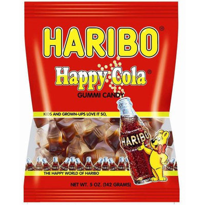 Haribo Happy Cola Gummy Candy, 5 Ounce (Pack of 6)
