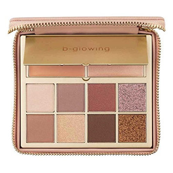 b-glowing Enhance + Glow Eyeshadow Palette - 8 Matte and Shimmer Colors + Brightening Eye Shadow Primer and Highlighter