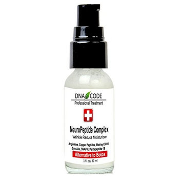 DNA Code®- No Needle Alternative-Argireline NeuroPeptides Wrinkle Reduce Moisturizer+Matrixyl 3000, Syn-Ake, SNAP-8, Copper Peptides