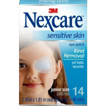 Nexcare Sensitive Skin Junior Size Eye Patches, 14ct by Nexcare