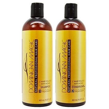 Dominican Magic Hair Follicle Anti-Aging Shampoo & Conditioner 15.87oz Duo