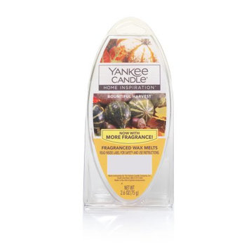 Newell Brands Yankee Candle Home Inspirations Wax Melts, Bountiful Harvest, 6-Pack