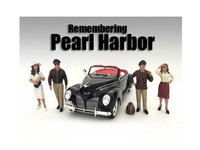 American Diorama 77472-77473-77474-77475 1 by 24 Scale Remembering Pearl Harbor Figure Set 4 Piece