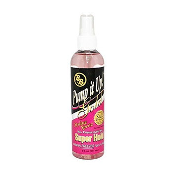 BB Pump it Up! Styling Spritz, Gold Super Hold - 8 oz. by BB Pump it Up!