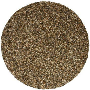 Tricc RLGFMR1512 24 in. Round Grill & Fire Pit Mat - Natural