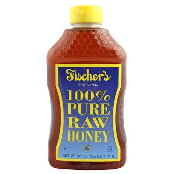 Fhca Llc Fischer's 100% Pure Raw Honey 40oz