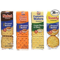 Lance Cookie/Cracker Variety, 36 Count (pack of 2)