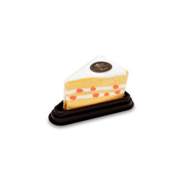 Couture Towel CT-PATC001205 12 x 11 in. Peach Cream Chiffon Cake Towel Mellow Yellow & White