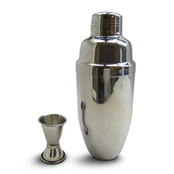 MY STUNNING ABODE Cocktail Shaker-Oz. (750 Ml)High Quality 18/8 Stainless Steel