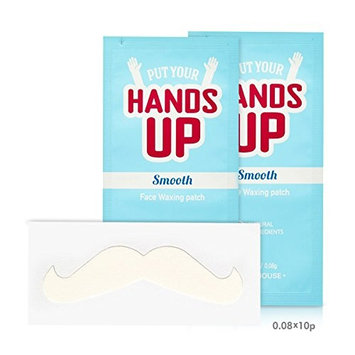[ETUDE HOUSE] Put Your Hands Up Smooth FACE WAXING Patches 20pcs Facial Hair Remover : Beauty