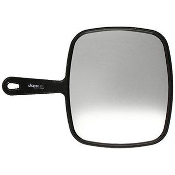 Diane TV Mirror, Large, Black, 9 x 12 Inches, 1 Count