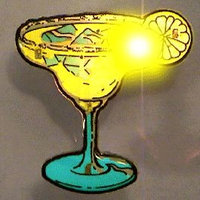Blinkee Margarita Flashing Body Light Lapel Pins