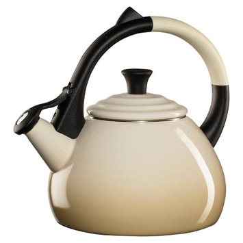 Le Creuset Of America Inc Le Creuset Oolong 1.9-qt. Stainless Steel Whistling Teakettle - Dune