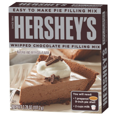 Hershey's Whipped Chocolate Pie Filling