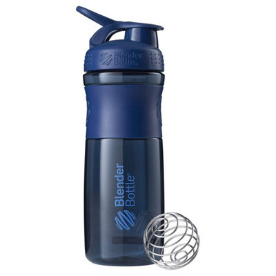 Sundesa, BlenderBottle, SportMixer Tritan Grip, Navy, 28 oz
