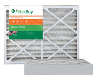 AFB Bronze MERV 6 12x26x4 Pleated AC Furnace Air Filter. Filters. 100% produced in the USA. (Pack of 2)