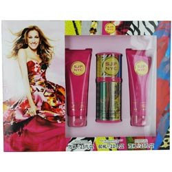 Sarah Jessica Parker Gift Set for Women (Eau De Toilette Spray, Shower Gel, Lotion)