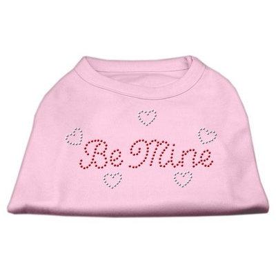 Mirage Pet Products 5212 MDLPK Be Mine Rhinestone Shirts Light Pink M 12