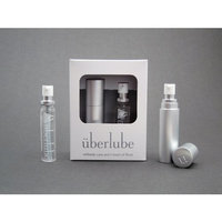 Überlube Good-to-Go Travel Case Silver with 15ml Refill: Health & Personal Care