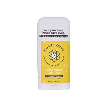 Handcrafted HoneyBee SmartyPits Standard Formula Deodorant | Lemongrass Patchouli
