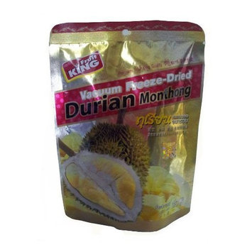 Fruit King Durian Vacuum Freeze-dried 1.06 Oz in Pouch