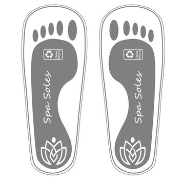 Ecv Brands Disposable Stick On Feet Pad Spa Soles Tanning Sandals - 100 Pair