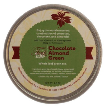 Heavenly Tea Inc. Heavenly Tea Leaves Chocolate Almond Green Loose Leaf Tea Canister, 1.5 oz.