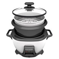 Black & Decker BLACKDECKER RCS614 14-Cup Cooked7-Cup Uncooked Rice Cooker and Food Steamer with Saut Function, W