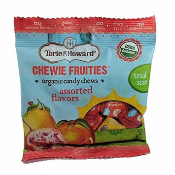Torie & Howard Fruities Organic Candy Assorted Trial Size, 1.27 oz